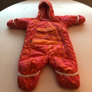 Obermeyer baby  snow suit . 6 to 9 or maybe 12